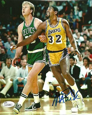 Magic Johnson Signed Autographed 16x20 Photo JSA Authenticated #5