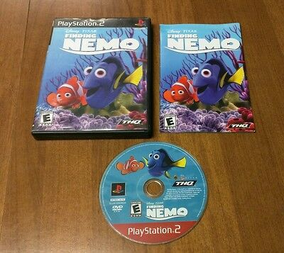 Finding Nemo (Sony PlayStation 2, 2003) - Complete & Free Shipping!