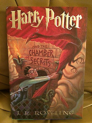 Harry Potter and the Chamber of Secrets Hardcover First Edition / 1st Printing