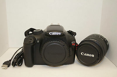 Canon EOS  T3 Rebel Camera, Body Only