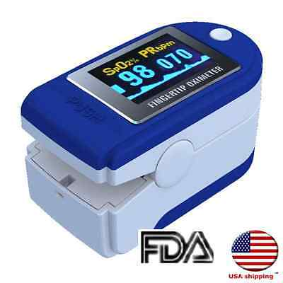 Promotion! OLCD Display Pulse Oximeter CMS50D Pulse Blood Oxygen SPO2 Monitor