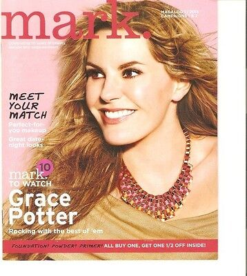 GRACE POTTER and the Nocturnals on Cover of Avon Mark Catalog, Magalog
