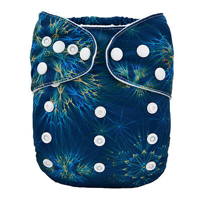 1 New Baby Cloth Diaper Reusable Washable Adjustable Pocket Nappy Cover