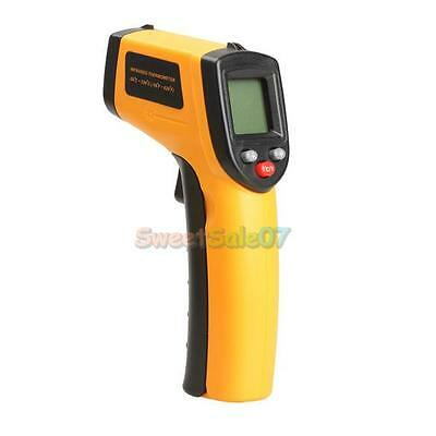 Digital Infrared Temperature Temp Gun Thermometer Non-Contact IR Laser Point Hot