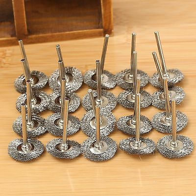 15 X 25mm Stainless Steel Wire Wheel Brush Cup fit Power Rotary Tools Grinder