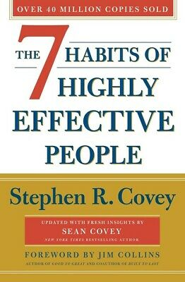 The 7 Habits of Highly Effective People by Stephen R. Covey NEW