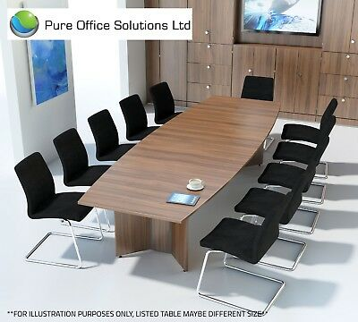 SVEN - Barrel Shape Conference, Boardroom, Meeting Table - 2500 x 1200 - Seat 8