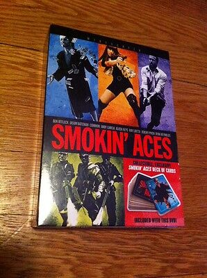 Smokin' Aces DVD, 2007, Widescreen Mint Sealed Best Buy Exclusive Deck Of Cards
