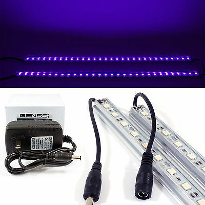 2x Black Lights *Purple* LED Neon Tube Perfect For Party Halloween Light