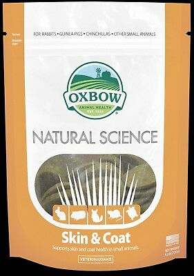 Oxbow Natural Science Skin & Coat - 60 chews, helps skin problems