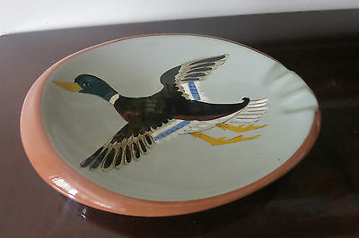 VINTAGE STANGL POTTERY ASHTRAY DUCK IN FLIGHT MADE IN USA