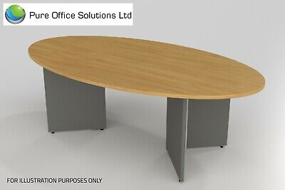 SVEN - Oval Shape Conference, Boardroom, Meeting Table - 2200 x 1200 - Seat 6