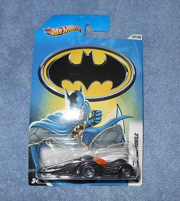 "HOT WHEELS 2012 ""CROOZE"" BATMOBILE+FREE PROTECTOR+VHTF+CHECK THIS OUT!"