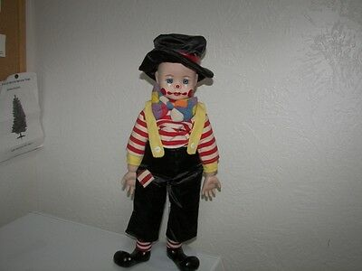 """Vintage Clown With Stand - 18"""" tall"""