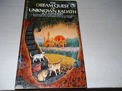 DREAM-QUEST OF UNKNOWN KADATH/1971/LOVECRAFT/CARTER/DUNSANY FANTASY/RARE TALES!!