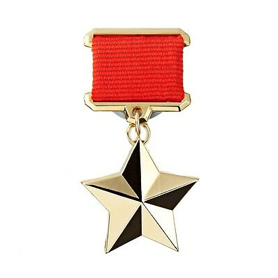RUSSIAN SOVIET MEDAL ORDER  HEROS OF USSR BADGE  WWII(copy)CCCP BEST QUALITY