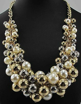 New Design Lady Bib Statement clear acrylic NEWEST necklace collar 432