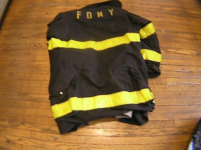 Authentic New York City firefighters turnout coat