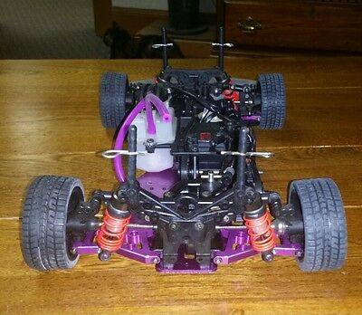 HPI RS4   ALUMINUM.  NO ENGINE OR PIPE.   RACING VERSION.