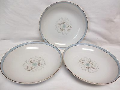 ROYAL M BY MITA DELIGHT M105 PATTERN SALAD BOWLS MADE IN JAPAN SET OF 3