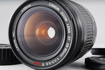 Canon EF 28 mm - 80 mm F/3.5-5.6 USM V Lens For Canon excellent from japan (197)