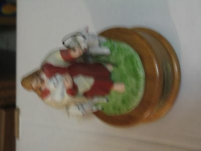 The Lord Is My Shepherd Porcelain Music Box