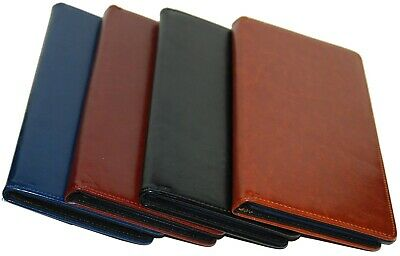 PU Leather 100 Cards Business ID Credit Card Holder Book Case Keeper Organizer