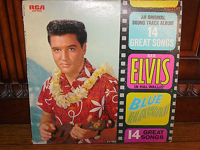 ELVIS  PRESLEY - BLUE HAWAII -    RCA  Victor LSP - 2426