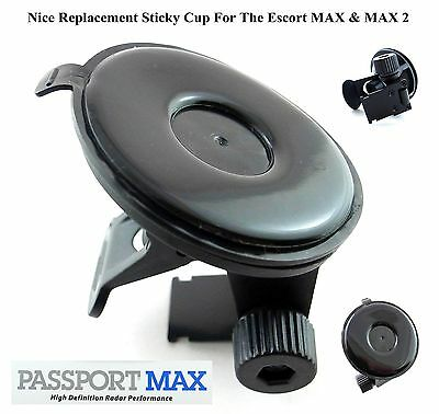 Nice Sticky Cup / Mounr For Escort MAX, MAX 2, 360 & GT-7 Radar Detector DURABLE