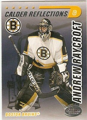 ANDREW RAYCROFT 2003-04 PACIFIC CALDER REFLECTIONS #3 BRUINS
