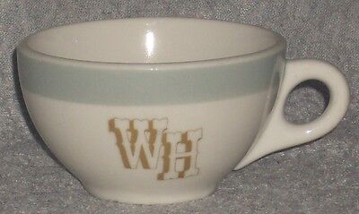 Syracuse China USA~WH~Western Hills Motel Coffee Cup~10-MM