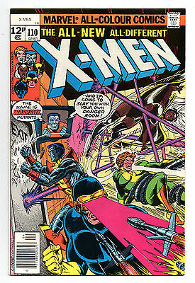 X-Men Vol 1 No 110 Apr 1978 (VFN-) Marvel Comics, Bronze Age (1970 - 1979)