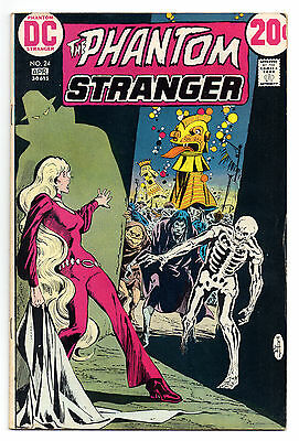 Phantom Stranger Vol 2 No 24 Apr 1973 (VG) DC Comics, Bronze Age (1970 - 1979)