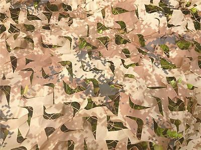 5X10ft Desert Camouflage Net Camo netting for Hunting sports tent decoration