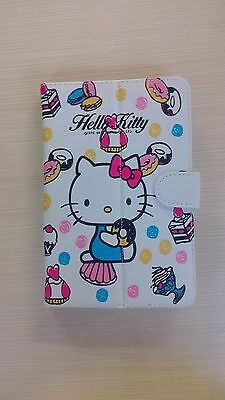 Hello kitty Universal PU Leather Stand Case Cover For Android Tablet 7 inch