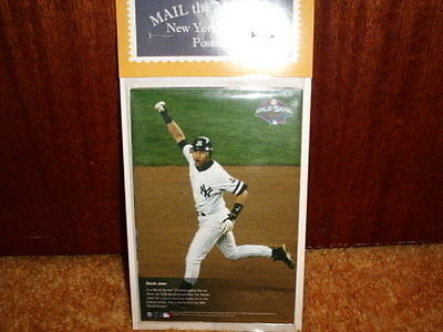 """Derek  Jeter Mail the Moments """"NEW YORK YANKEES""""4x6"""" set of 10"""