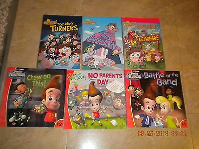 Nickelodeon Book Lot-  The Fairly Odd Parents