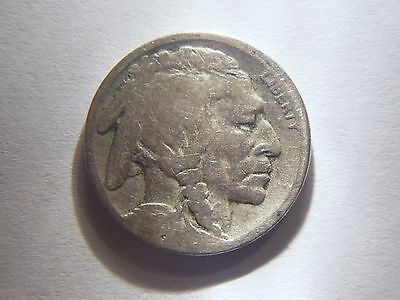 1920-S Buffalo Nickel,  Nice Older Date Coin Priced Below Book Value