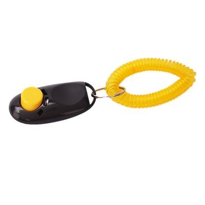 New Black High Quality Comfortable Dog Click Clicker Training Trainer  ST