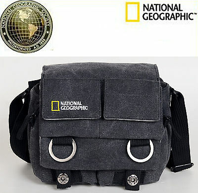 New National Geographic Earth Explorer NG 2345 DSLR SMALL GRAY Camera Bag