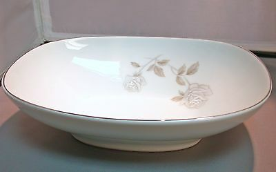 "Noritake China Rosay 9"" Oval Vegetable Bowl"