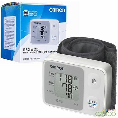 Omron RS2 Wrist Automatic Intellisense Digital Blood Pressure Monitor 30 Memory