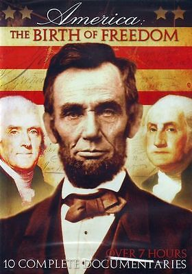 America: The Birth of Freedom: 10-Documentary Collection (2-DVD)
