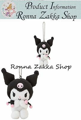 New Japan Licensed stuffed Sanrio Original Kuromi with chain bag accessories