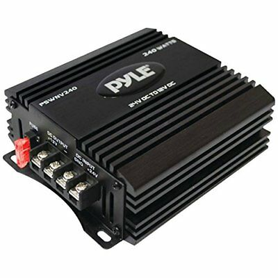 Pyle Audio PYLPSWNV240b 24V DC To 12V DC Power Step Down 240W Converter