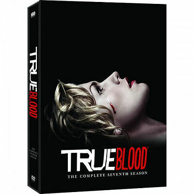 TRUE BLOOD: THE COMPLETE SEASON 7 (DVD, 2014) FREE SHIPPING New