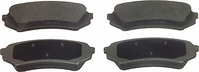 Disc Brake Pad-ThermoQuiet Rear WAGNER PD773