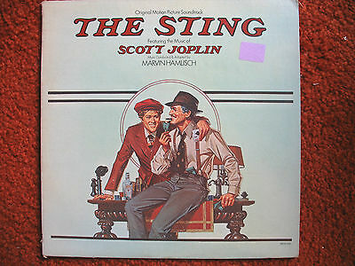 The Sting Motion Picture Soundtrack(MCA...1974) VG LP