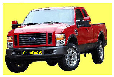 Fit 2008-2010 Ford Super Duty F-250 Fender Flares Factory Oe Style