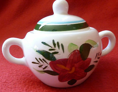 Sale! Stangl Pottery Country Garden Covered Sugar Bowl